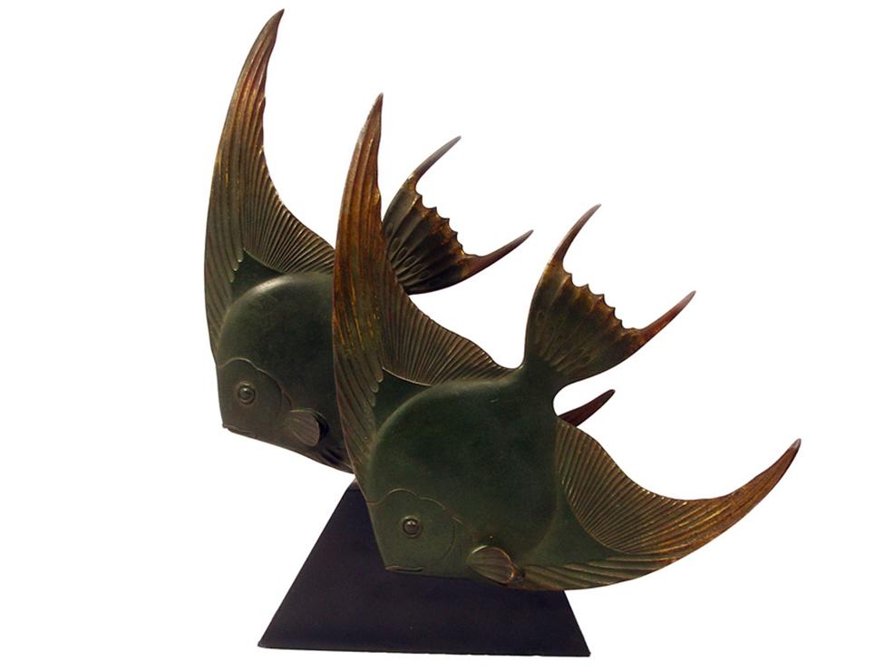 """Angelfish"", by George Lavroff, c. 1928"