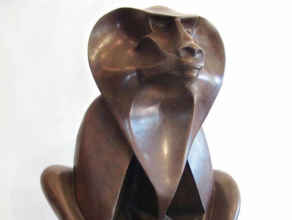 Roberto Esteves (Argentinian, XX c) Baboon; 1984