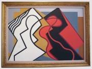 Osvaldo Medici (1902-1978)- Scontro; 1952